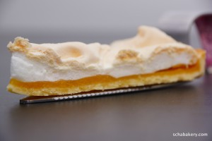Lemon Meringue Pie, a piece of lemony melt in the mouth pie
