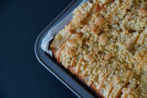 Apple Streusel Cake | schabakery.com